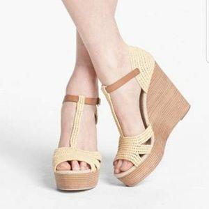 🌷Tory Burch Carina Wedge Sandals